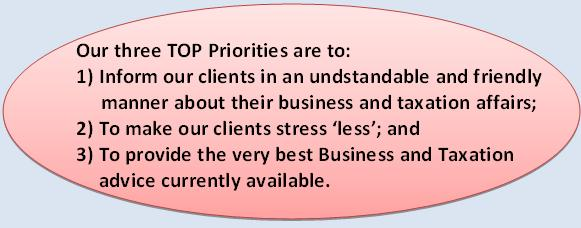 Our 3 Top Priorities